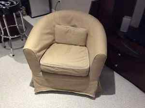 IKEA chair with cover
