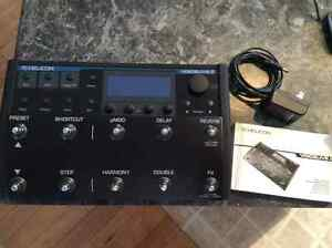 TC Hellicon VoiceLive 2 vocal harmony pedal