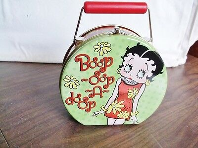 "New BETTY BOOP Case, Metal Decorative Case, 6"" Wide - 7.5"" Tall - 3"" Deep"