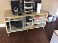 TV-Stereo entertainment unit