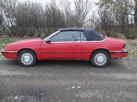 1991 Chrysler Le Baron Convertible