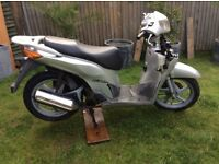 Honda sh 52 plate engine works 250 Ono