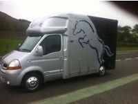 New Regent Duo 3.5 tonnes Horsebox / Horse lorry