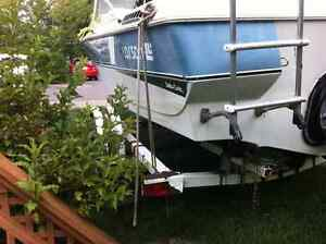Ezy loader Boat trailer for Sale comes with 17.5 ft Larson Kawartha Lakes Peterborough Area image 5