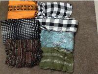Ladies scarves X 7