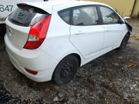 PARTING OUT ONLY 2014 Hyundai Accent