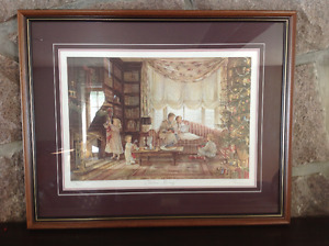 "Trisha Romance Limited Edition Print ""Christmas Morning"""