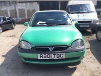 1997 Vauxhall Corsa B 1.0 5 Door Hatchback