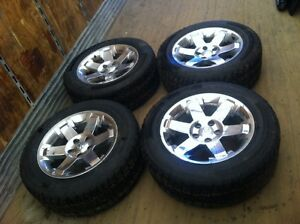 Oem 20 inch alloys off ram 1500 with tires