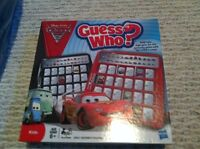 Cars theme guess who game