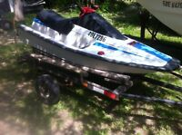Yamaha wave runner 500cc As is. With trailer