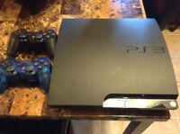 PS3 + 30 GAMES 2 CONTROLLERS $300 OBO