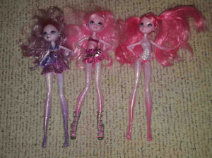 Lot of 3 Ferry Barbie Dolls