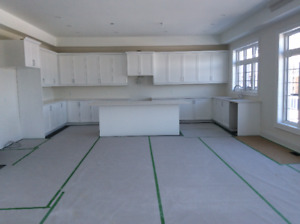 Brand New Upgraded White Kitchen Cabinets with Quartz Counters