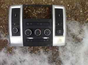 Dash trim with auxiliary switches for 2011 Dodge Ram
