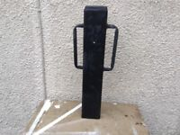 Fence post rammer & hole auger