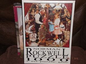 (SEALED) NORMAN ROCKWELL JIGSAW PUZZLE