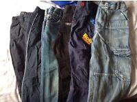 Boys jeans aged 3-4yrs