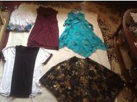 Joblot bundle ladies clothes size: 10 used 5 items £5