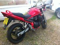 suzuki bandit 650 streetfighter with gsx 1100 engine gsxr gixxer