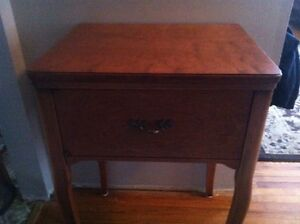 Beautiful Vintage Sewing Table repurposed for Entrance Table Belleville Belleville Area image 3