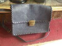Atmosphere ladies shoulder bag grey used £3