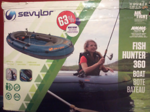 INFLATABLE BOAT & MOTOR w/all accessories