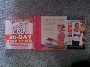 Diet cookbooks and diet book lot