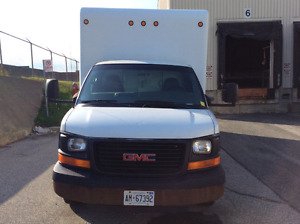 2007 GMC 3500 Cubevan (16ft)