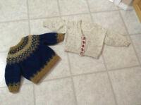 Handmade Toddler Boy Sweaters