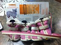 Med size dog booties