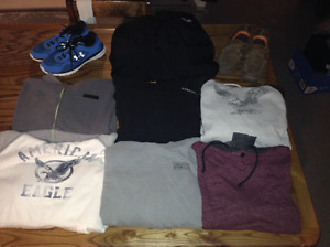 Mens size small clothing