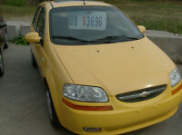 2008 CHEV AVEO LT AUTO  LOADED  INCL.PW ROOF   124KMS ONLY $3200