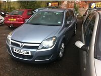 Vauxhall astra 1.4 on 56 reg long mot