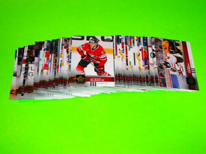 SÉRIE Cartes Hockey Canadian Tire Upper Deck TEAM CANADA 1-100