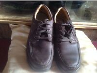 Clark men's shoes size 7 used £5