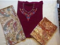 Ladies indian suits material 3 pieces £10