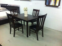 BEST DEAL-Brand new 5pcs solid wood dining set$299(free delivery