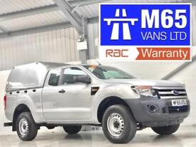 2015 FORD RANGER PICKUP 2.2TDCi 150PS 4x4 XL LOW MILEAGE SILVER AIR CON KING CAB