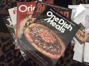 Lot of 5 better homes and gardens cook books.. NOW 15.00