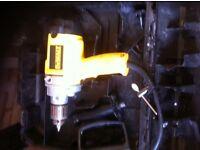 Dewalt mixing drill/ core drill