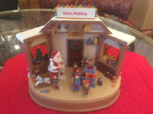 Christmas decoration Musical Santa Workshop