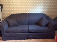 Blue pull  out sofa $75