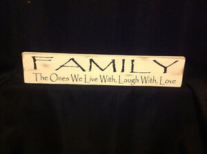 Hand Painted Wooden Sign SALE! Buy 2, ave $5 - Buy 3, Save $10!