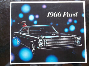1966 Ford dealer showroom catalog