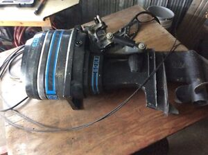 50 hp Mercury motor with trim and cables