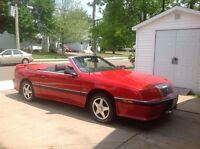 Antique 1989 convertible Chrysler Labaron with kit