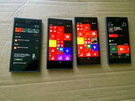 Nokia 735 windows 10 unlocked only £14.99 each please see description