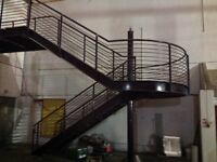 STEEL STAIRCASE FROM HISTORIC KELVIN HALL.