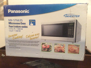 2- Microwaves, Panasonic Inverter & Kenmore